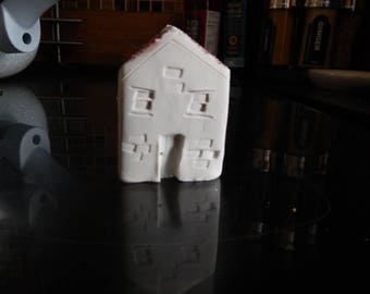 White Miniature house