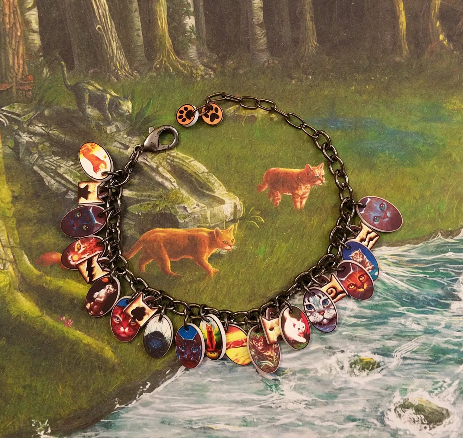 Warriors Book Series Review: Warrior Cats Warrior Cats Jewelry Warrior Cats Bracelet