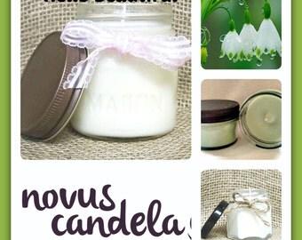 Soy Candle Mason Jar ~ Hello Beautiful Scented Soy Candle ~ Mason Jar Candle ~ Soy Candle ~ Scented Candle ~ Handmade Candle  4 & 8 oz