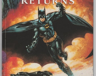 Batman Returns #1 1992 Official Comic Adaptation of Movie Tim Burton Michael Keaton Penguin Catwoman DC Comic Book 1990s