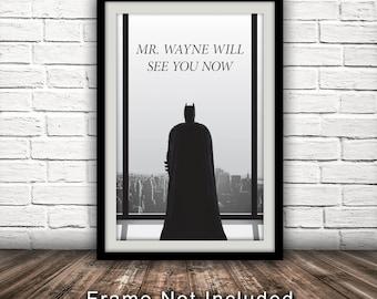 50 Shades of Grey/Batman Crossover Poster - Fan Art, Parody