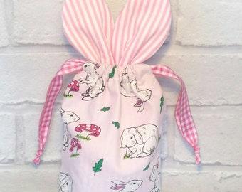 Bunny Treat Bag - Easter Bag - Easter Bunny Bag - Bunny Bag - Easter Gift