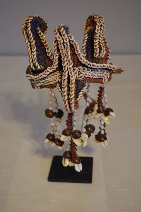 Papua New Guinea Armband Nassa Shell Woven Fiber Cowrie Seeds Armband Abelam Handmade Shell Woven Fiber Currency Shell Armband