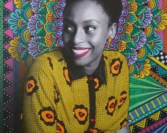 Chimamanda Ngozi Adichie Print