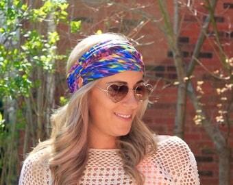 BUY 2 get 1 FREE!! Delight, Yoga Headwrap, Fitness Workout Headband, Running Headband, Top Selling Item, Boho Headband, Yoga Headband