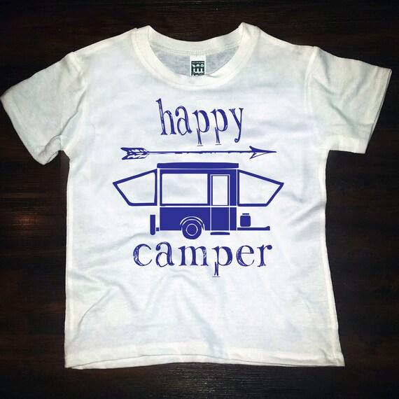 happy camper- tee