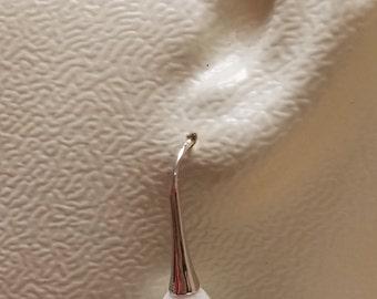 Tear drop South Sea Shell Pearl earrings