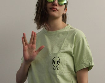 Alien Abduction Pocket Tee