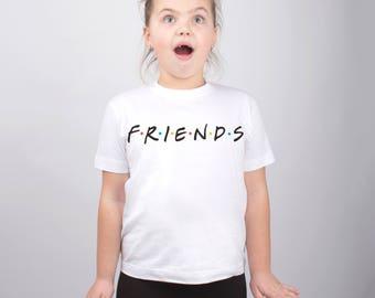 Friends TV Show Funny Baby Clothes Girls Shirt Boys Shirt Toddlers T Shirt Kids Tshirt Youth Shirt Tees for Teens Clothing Kids PA1184