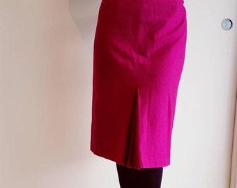 Pink Woolen Skirt