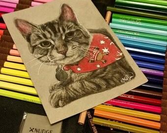 Custom Colored Pencil Piece