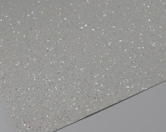 FROSTY WHITE chunky glitter canvas sheet,8x11 canvas sheet,glitter sheet,white glitter canvas,glitter fabric sheet,glitter fabric material