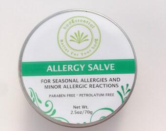 Allergy Salve, Natural, Antihistamine