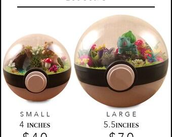 Pokemon Terrarium - Custom! You Choose!
