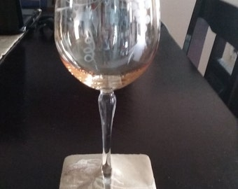 Handmade Wine Glass Markers/Holders