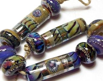 Quinlan Glass Serendipity Handmade Lampwork Glass Beads