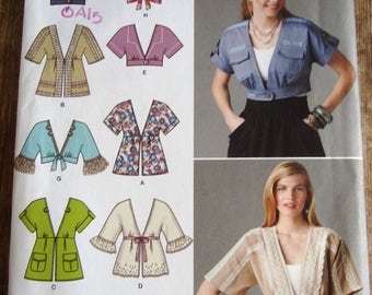Misses Jacket in Two Lengths with Trim Variations Sizes 6 8 10 12 14 Simplicity Pattern 2223 UNCUT