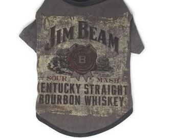 Jim Beam Dog Tee, Size Large, Whiskey, Bourbon