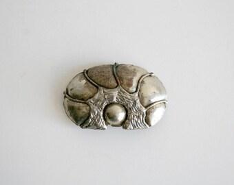 Mexican Artisan Silver Barrette