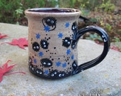 Soot Sprite Mug - stoneware coffee cup funny gift