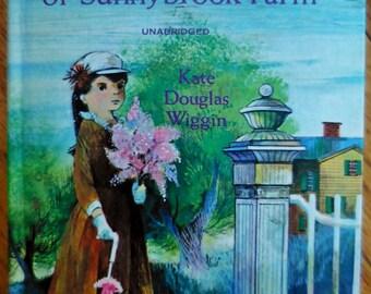 1965 - REBECCA of SUNNYBROOK FARM by Kate Douglas Wiggin - Vintage Hardcover Novel -  Old Book - Fiction - Classic Children's Story - NiCe!