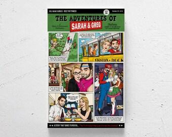 MADE TO ORDER / Custom Comic / custom comic book, personalized comic book, custom portratis, custom couple illustration, custom gift