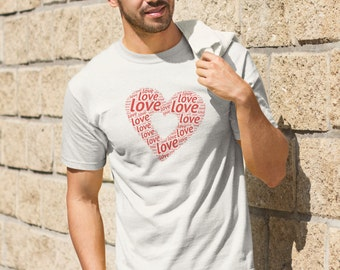 Love Heart Men's T-Shirt
