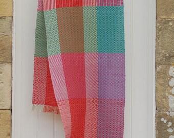 Shawl, hand woven shawl, weaving, linen shawl, woven, cotton shawl, wrap, Scottish