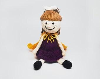 Custom Purple Supergirl Doll - Supergirl Doll - Purple Doll - Custom Supergirl Doll - Custom  Doll - Kid's Birthday Gift - Gift for Girls