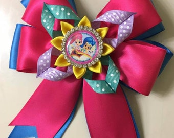 Shimmer and Shine Girl Hair bow! (Free Shipping)