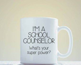 Unique Gift for Counselor - Gift Idea for Counselor - Birthday Gift - Personalized Gift - Coffee Mug - Unique Gift Idea - Funny Gift Idea