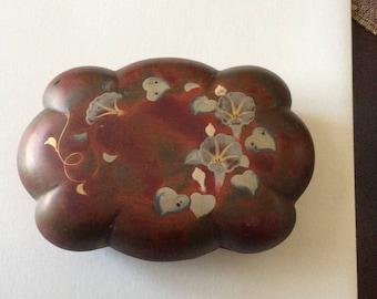 Vintage Maruni Lacquerware Trinket Box