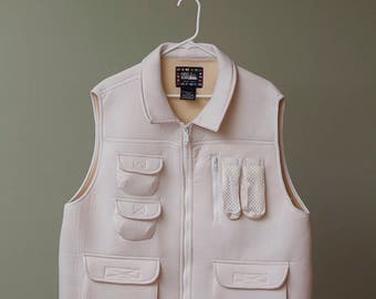 First Down Neoprene Vest White XL