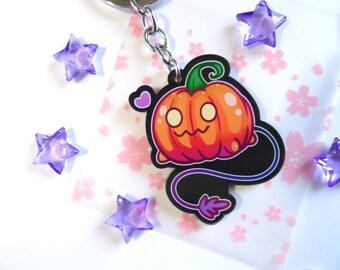 Pumpkin Pup Steven Universe Keychain