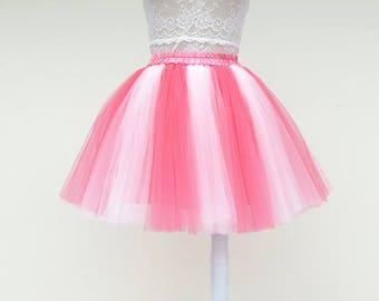 Bady and me tulle skirt,Colored ballerina skirt,prom tulle skirt,photo fleabane skirt,custom made