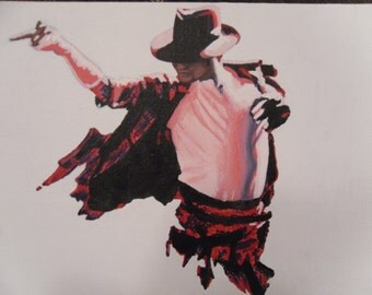 michael jackson abstract