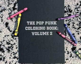 The Pop Punk Coloring Book: Volume 2