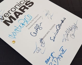 Veronica Mars TV Show Pilot Script with Signatures/Autographs Reprint
