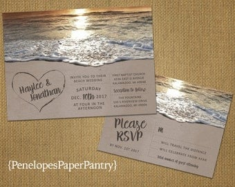 Beach wedding Etsy