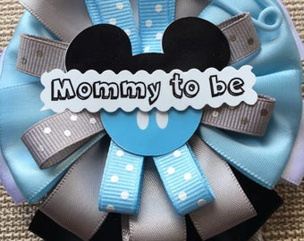 Mickey Mouse Inspired - Baby Shower Pin