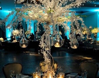 Wedding special ocassion Crystal trees centerpieces