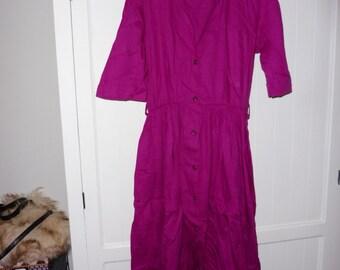 Dress GALERIES LAFAYETTE size M (38-40 EN) - 1990s