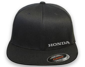 HONDA Motor Flex Fit Hat **CURVED Bill**  ***Free Shipping in BOX***