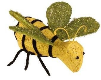 "9"" Wire & Bead Bumble Bee/Wreath Supplies/Spring-Summer Decor/Bee Decor/KG2922"