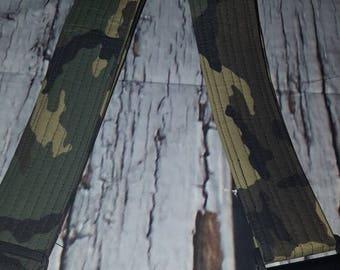 RTS guitar strap -camo