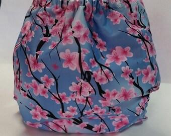 Sakura Bloom One Size Pocket Diaper