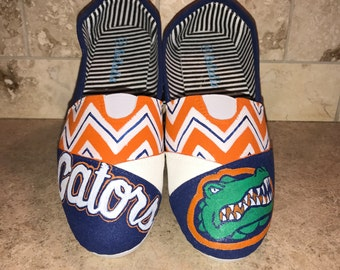 Florida Gators inspired women's shoes Toms available