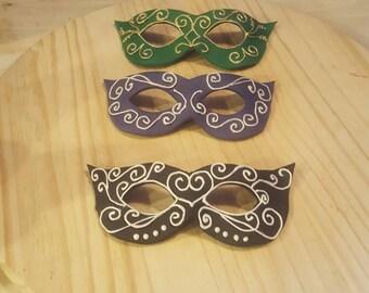 Fondant Masquerade Mask