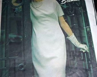 Vogue Paris Original Dress Patten by Balmain---Vogue 1327---Size 14 Bust 34