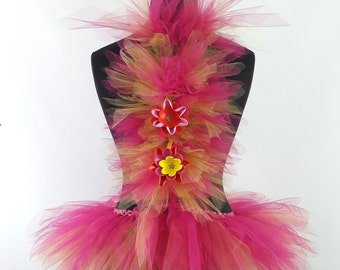 Rave Festival Carnival Outfit with Tutu Spiney and Wrist Wraps